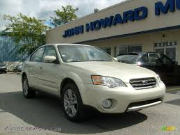 2006 subaru outback interior 2006 subaru outback 3 0 r l l bean edition sedan in champagne gold