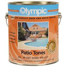 amazon com olympic patio tones deck coating creekstone 1