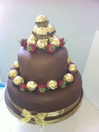 chocolate ferrero rocher cake cakecentral com