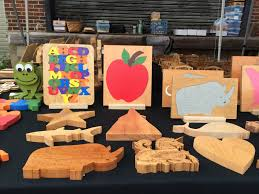 Wooden Home Decor Items At Home On The Road Morganton Farmers Market Charlotte At Home