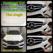 paint protection film clear bra tint magic window tinting