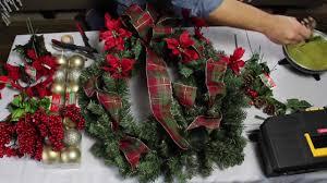 christmas wreath easy diy dollar tree christmas wreath wreath tutorial 2017