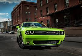 Dodge Challenger Lime Green - 2015 dodge challenger sxt r t first drive motor trend