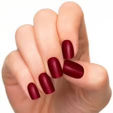 amazon com incoco nail polish strips nail color red velvet