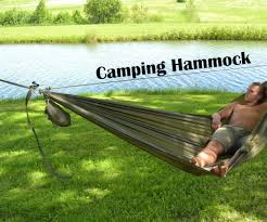 Cocoon Hammock Camping Camping Hammock 6 Steps With Pictures