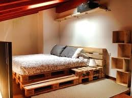 bed frame with lights pallet bed frame with lights gallery of wood pallet bed frame with