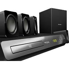 Buy Philips Hts5520 94 5 1 Dvd Home Theatre System Online At Best - hts2512 94 5 1 home theatre system