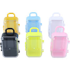jewelry box favors 1pc mini rolling travel suitcase shape box candy kids jewelry