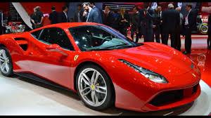 ferrari car 2016 2017 2016 ferrari 488 gtb new sport car luxury overviews