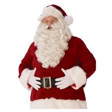 santa beard mens ultra premium santa beard and wig buycostumes