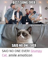 Meme Song - best song ever said noone ever said no one ever grumpy cat smile