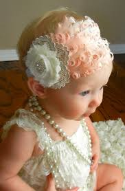 swarovski crystal and nigori feather ivory lace headband love