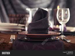 table setting for dinner elegant place setting for restaurant