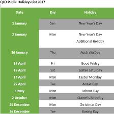 printable calendar queensland 2016 qld public holidays 2018 download queensland public holiday calendar