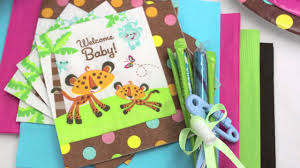 fisher price baby shower supplies youtube