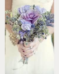 purple bouquets flowering purple kale wedding bouquets centerpieces mon cheri