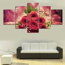 online get cheap rose flower paintings aliexpress com alibaba group