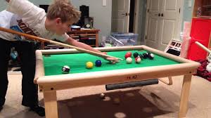Pool Tables Games My Homemade Pool Table A Game Youtube