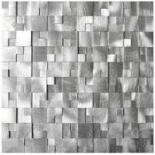 Eden Mosaic Tile Introduces Expanded Line Of Metal Backsplash Tile - Backsplash materials
