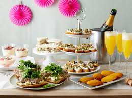 or baby shower throw a bridal or baby shower everyday celebrations recipes for