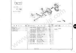 43100 by Motorcycle Parts Honda Monkey R Monkey Rt Ab22 100 U2014 Impex Japan