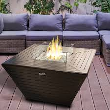 Fire Patio Table by Fire Pit Costco