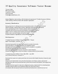 Sample Resume For Manual Testing by Sample Testing Resumes For Manual Testing Resume For Your Job