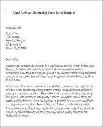 assistant city attorney cover letter paralegal cover letter