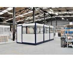 bureau modulaire interieur bureau palettisable monté d usine devis