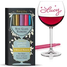 product packaging design for wine glass markers