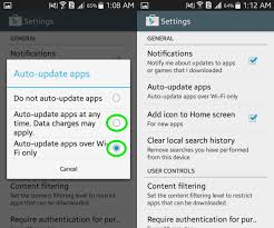 how to update apps android how to update android apps ubergizmo