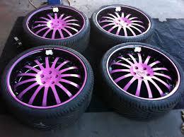 black pink jeep kitty car rims kitty hell