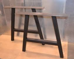 how to taper 4x4 table legs tapered trapezoid style metal table bench desk legs any size color