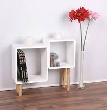 Wohnzimmer Regal Weis Lounge Regal Design Retro 70er Cube Wohnzimmer Standregal In Weiß