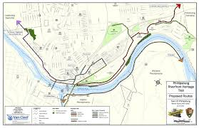 Media Pa Map Phillipsburg Easton Riverfront Trail Earns Mayor U0027s Endorsement