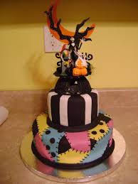 nightmare before christmas cake decorations nightmare before christmas wedding cake blah