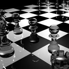 Glass Chess Boards Download Wallpaper 2048x2048 Chess Board Glass Black White
