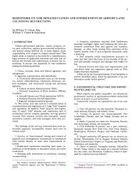 ii governmental structures and airport related land use