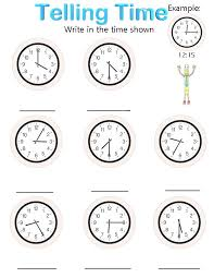 second grade time worksheets 23 best homework images on teaching math school