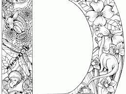 download coloring pages letter d bestcameronhighlandsapartment com