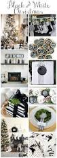 Black And White Christmas Decorations For Tables by Black U0026 White Christmas Style Series Diys Inspiration And Black
