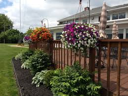 Hanging Flower Pot Hooks Shepherd Hooks And Hanging Baskets On Deck Outdoors Pinterest