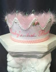 1st birthday bib birthday crown pink