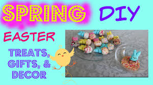 Diy Easter Gifts Diy Spring Room Decor U0026 Easter Gifts Treats 2015 Youtube