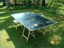 used outdoor ping pong table how to build a ping pong table