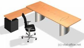 Chef Schreibtisch Circon Executive Basic Chefschreibtisch Solide Eleganz Vital