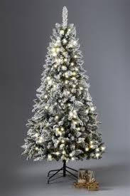 white pre lit christmas tree white christmas trees white pre lit christmas trees next uk