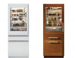 Glass Door Home Refrigerator by Ge Monogram U0027s New Line Of 30