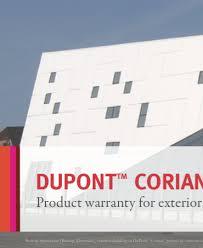 Dupont Corian Warranty Creaciones Parma Descargas