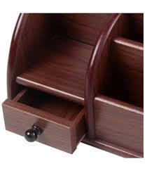 fab handicraft brown wood pen stand buy fab handicraft brown wood